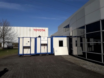 Toyota Parts Center Europe in Diest (BE)