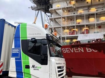 """Mv Seven Borealis"" te Rotterdam (NL)"