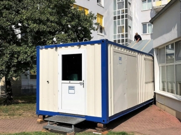 Helios kliniek in Hagen (DE)