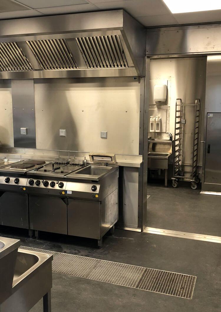 Tijdelijke keuken - Troisdorf